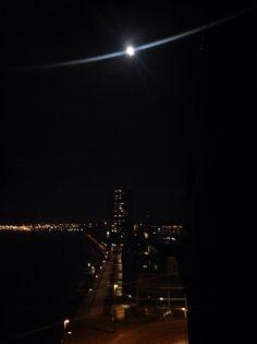 Moonlight at KNSM