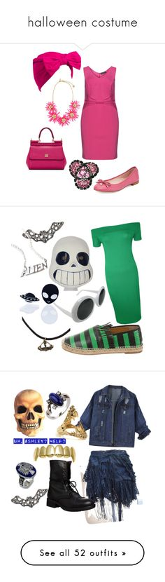 """""""halloween costume"""" by aleger-1 ❤ liked on Polyvore featuring Manon Baptiste, Kate Spade, Dolce&Gabbana, Beauxoxo, Disturbia, Haus of Dizzy, WearAll, Steve Madden, Kasun and Zizzi"""