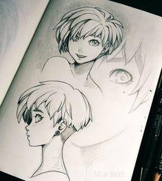 http://www.deviantart.com/art/Short-Hair-605822291