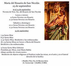 25 de septiembre | 34° aniversario de la aparición de la Virgen María del Rosario en San Nicolás