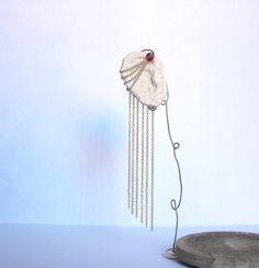 Chain Cascade Chain Dangle Ear Cuffs by KunoichiCreations on Etsy, $25.00