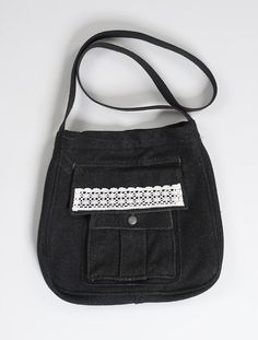 "fairtragen - Globe Hope - onlineshop - Accessoires - Taschen - Tasche ""Hertta"" - schwarz Shops, Pot Holders, Bags, Black, Handbags, Tents, Hot Pads, Potholders, Retail"