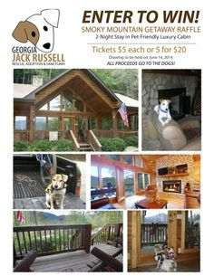 There's still plenty of time to enter our Smoky Mountain Getaway cabin raffle! Get your tickets from a volunteer or online.