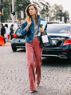 Corduroy - the trend for spring