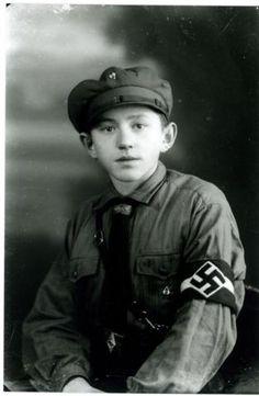 A Hitler youth (Hitlerjugend)