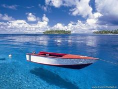 Republic of the Maldives: Crystal Clear Waters of The Republic Of Maldives,  Indian Ocean