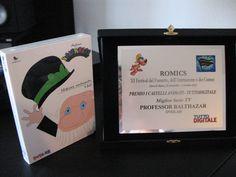 ROMICS 2011 And the winner is... #ProfessorBalthazar!