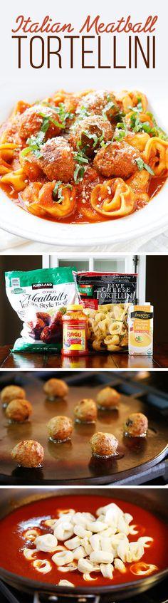Italian Meatball Tortellini | 17 Rainy Day Foods That'll Make You Feel Warm And Fuzzy Inside
