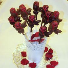 Valentine Chocolate Roses | Chocolate Rain Shop for Handmade Chocolates