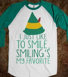 Smiling's My Favorite - Winter Cheer - Skreened T-shirts, Organic Shirts, Hoodies, Kids Tees, Baby One-Pieces and Tote Bags