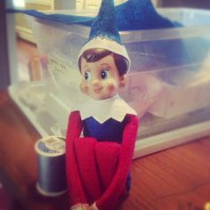 Elf on the Shelf converts to Judaism. He now goes by Hanukkah Sprite.