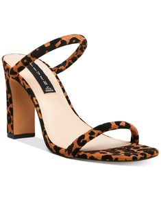 Steven by Steve Madden Women's Jersey Naked Sandals - Leopard Casual Heels, Casual Sneakers, Pump Shoes, Shoes Heels Boots, Dress With Sneakers, Flip Flop Shoes, Girls Shoes, Shoes Women, Types Of Shoes