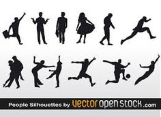 Image result for silhouettes