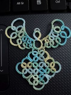 """Sharren's Random Stitches"" Very pretty, I like the shape of it!"