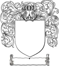 Create your family's Coat of Arms    #family #ancestry #genealogy #kids #craft