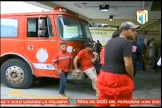 Abel Martinez Canceló a 25 bomberos en el momento que la ciudad de Santiago estaba en alerta amarilla por el paso de Matthew