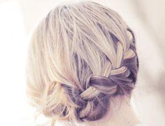 bridesmaid braid
