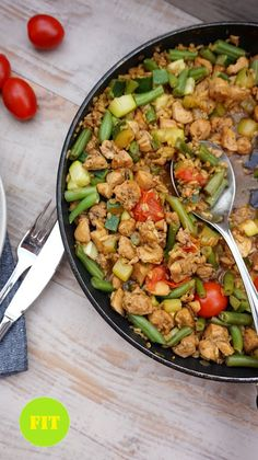 Fit Meals, Kung Pao Chicken, Dinner, Cooking, Ethnic Recipes, Fitness, Food, Diet, Essen