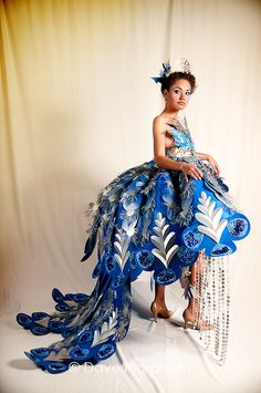 2011 ADCD Paper Fashion Show Winner by Stealth Photo, via Flickr