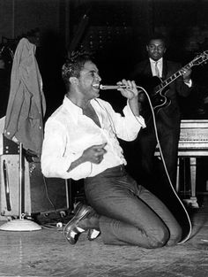 Jackie Wilson, one of the greatest entertainers of all time…Jackie Wilson set the bar of what a complete entertainer should be and many of the black entertainers who came after him…