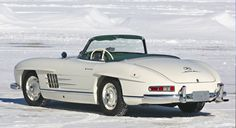 1957 Mercedes-Benz 300 SL Roadster at Gooding & Co Amelia Auction