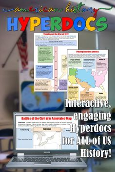 Hyperdocs for American History! Hyper-engaging, interactive, and standards-based!