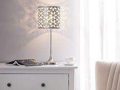 #beliani #belianisuomi #huonekalut #makuuhuone #sisustus #kodinsisustus Metal Table Lamps, Beliani, Lamp, Lamp Shade, Lighting, Metal, Home Decor