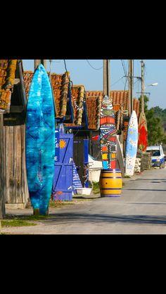 Port de la Teste (Gironde) Limousin, Bordeaux, Poitou Charentes, Cap Ferret, France Travel, Paddle, Surfing, Surf City, Ocean