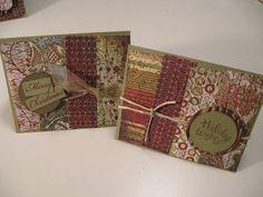Basic Grey Christmas Cards