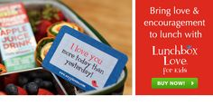 Lunch Box Notes for Kids -- Lunchbox Love | Say Please Inc