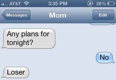 This straight shooter... | 29 Parents Who Are Clearly Way Better At Texting Than Their Kids