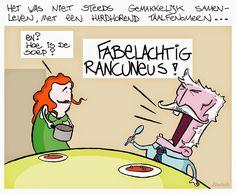 CARTOONS EN ILLUSTRATIES: Cartoon: Taalfenomeen