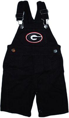 Georgia Bulldogs Long Leg Overalls
