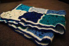 Blue Baby Blanket