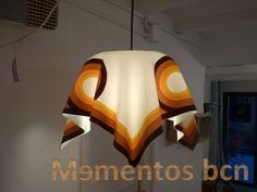 """Lámpara de metacrilato """"mantel""""...muy especial"""
