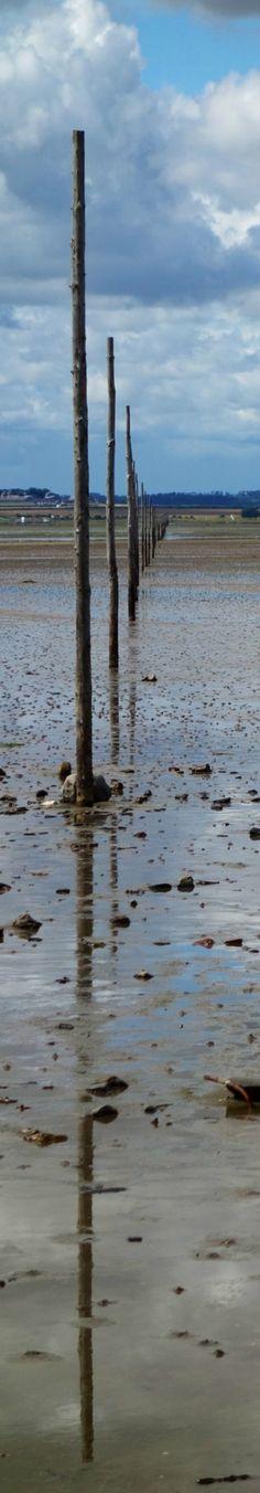 Holy Island Causeway, Northumberland. http://visitnorthumberland.com/coast/holy-island