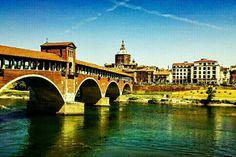 Pavia, Italy #pavia #bridge #architecture #city #town #float
