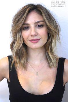 Medium Layered Haircuts, Medium Hair Cuts, Short Hair Cuts, Medium Hair Styles, Curly Hair Styles, Fun Hair Cuts, Modern Shag Haircut, Modern Haircuts, The Shag Haircut