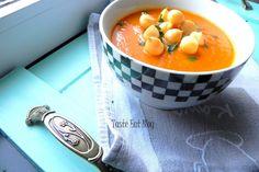 Taste Eat: Zupa krem z pomidorów wszelakich Cantaloupe, Fruit, Drinks, Eat, Blog, Drinking, Beverages, Drink, Beverage
