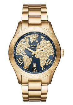 Montres Michael Kors LAYTON - Montre - gold-coloured or: 279,00 € chez Zalando (au 01/10/17). Livraison et retours gratuits et service client gratuit au 0800 915 207.