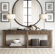 Zinc-Top Mercantile Console Table 2019 This would be so gorgeous in our entry way. Zinc-Top Mercantile Console The post Early C. Zinc-Top Mercantile Console Table 2019 appeared first on Entryway Diy. Decoration Hall, Entryway Decor, Table Decorations, Entryway Ideas, Modern Entryway, Long Entryway Table, Centerpiece Ideas, Black Entry Table, Foyer Table Decor