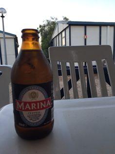 Cerveza rubia marina. Portugal.