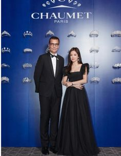 Song Hye Kyo shines brightly in recent photos taken at a dinner show event on October actress shone like a star at the Chaumet Pa… Beautiful Love, Beautiful Gowns, Beautiful People, Song Hye Kyo, Cena Show, Winter Travel Outfit, Chaumet, Korean Actresses, Hair Looks