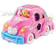 Игрушка музыкальная светящаяся Funny Toys Машина Pink (813)