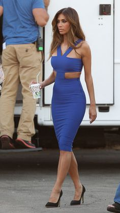 Nicole Scherzinger Spied On Set While In California