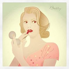 Betty Illustration