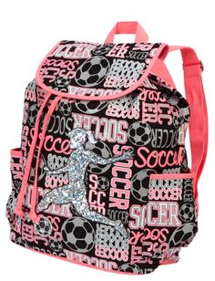 Soccer Sports Rucksack | Girls Fashion Bags & Totes Accessories | Shop Justice