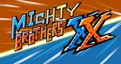 Mighty Brothers XX Game Title by Byudha11
