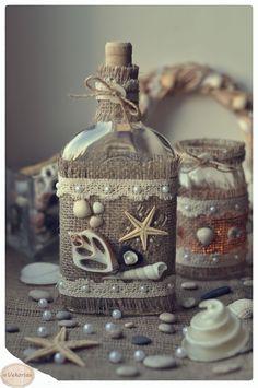сокур,vekoria,изделия из ракушек,ракушки,морские изделия,ракушки в интерьере,поделки из ракушек,морской декор,ракушки,декор из ракушек,морская бутылочка,декор бутылочки,морской декор бутылочки,бутылочка,декор ракушками,