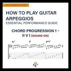How to Play Guitar Arpeggios - Essential Performance Guide Blues Guitar Chords, Acoustic Guitar Chords, Music Theory Guitar, Guitar Tabs Songs, Music Chords, Music Guitar, Playing Guitar, Guitar Tips, Jazz Chord Progressions